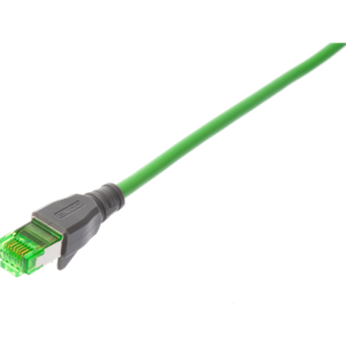 RJ45 male straight single-ended
