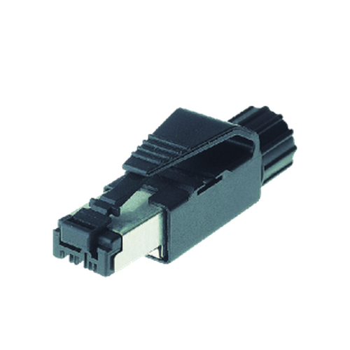 RJ45 male straight 4-pin