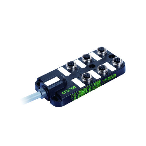 M12 Distribution Box 6-way