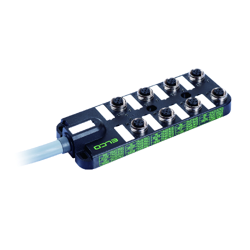 M12 Distribution Box 8-way